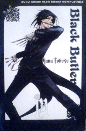 Black Butler Vol 3 Book Cover