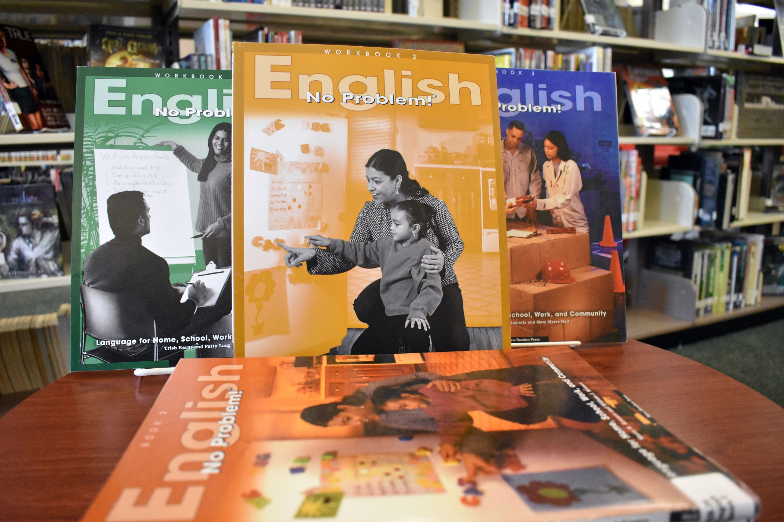 English language learning coursebook