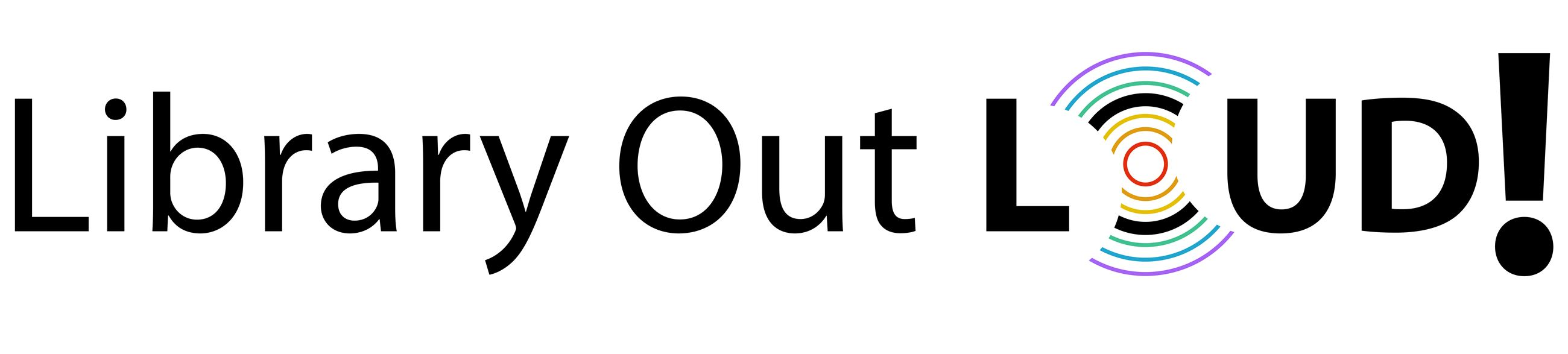 Library Out Loud Logo